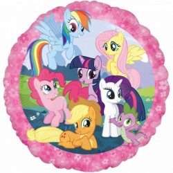 BALON FOLIOWY MY LITTLE PONY 43cm-2534
