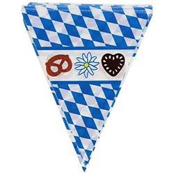 GIRLANDA FLAGI BAWARSKA TRÓJKĄTY OKTOBER-5162