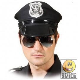 OKULARY POLICYJNE CZARNE