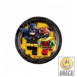 TALERZE PAPIEROWE LEGO BATMAN 8 SZT.