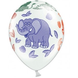 BALON ZOO SAFARI 30 CM 5 SZT.