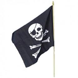 FLAGA PIRACKA CZARNA 45 x 30 CM