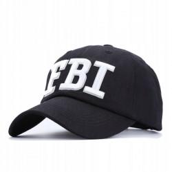 CZAPKA Z DASZKIEM FBI
