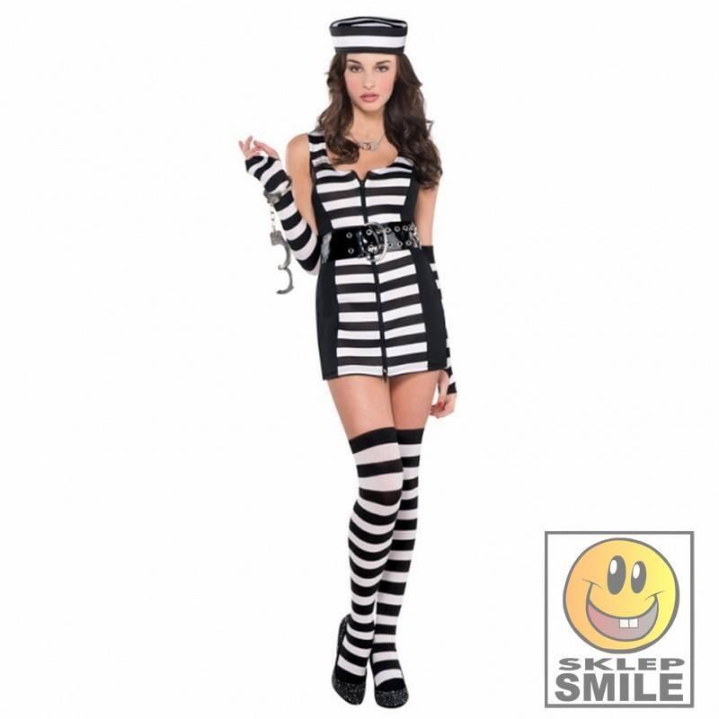 f585bac21819dc Strój policjantki sukienka 142-148 cm - Sklep Smile