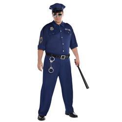 STRÓJ POLICJANTA GLINY GRANATOWY XXL-869