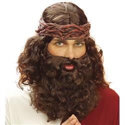 PERUKA Z BRODĄ JEZUSA-1262
