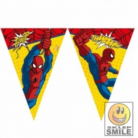 GIRLANDA FLAGI SPIDERMAN 2,3 M